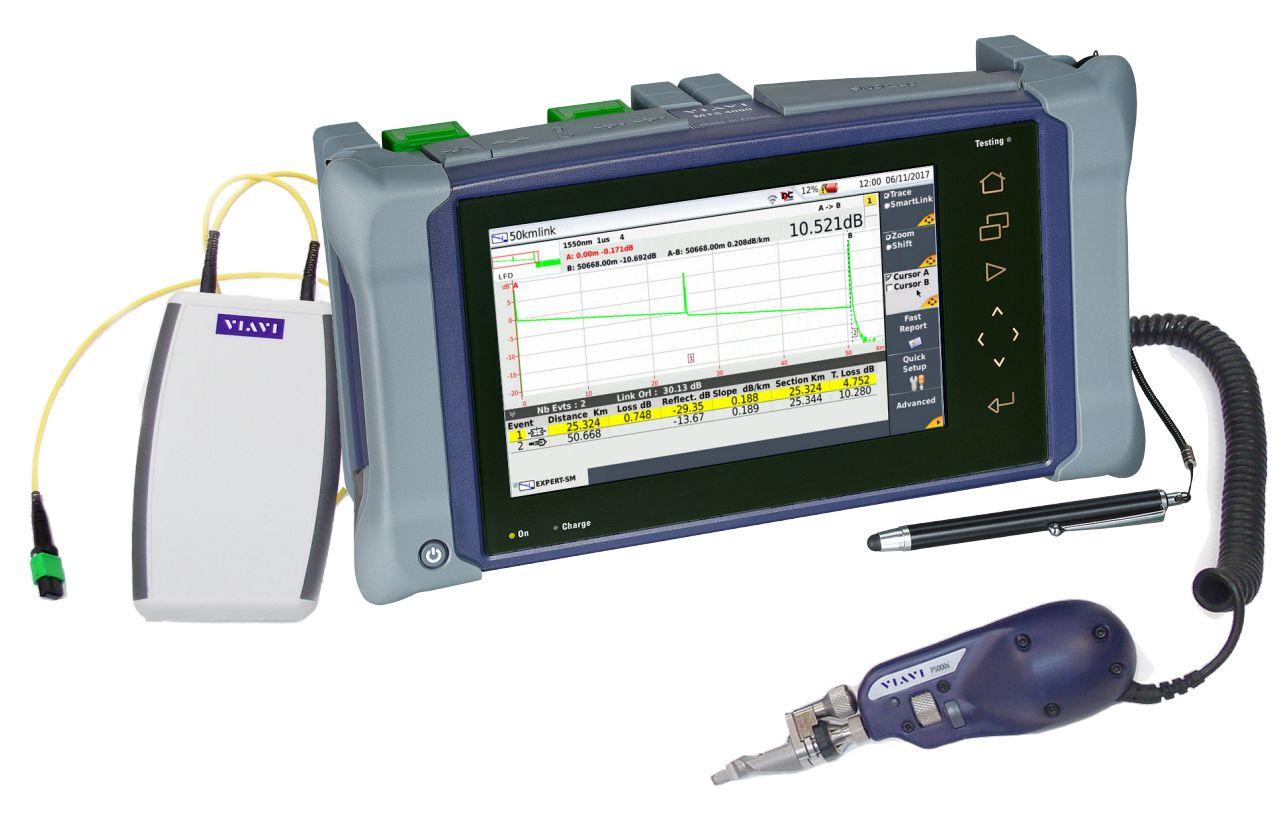 Рефлектометрические измерения и автоматическая инспекция параллельной оптики (MPO/MTP)