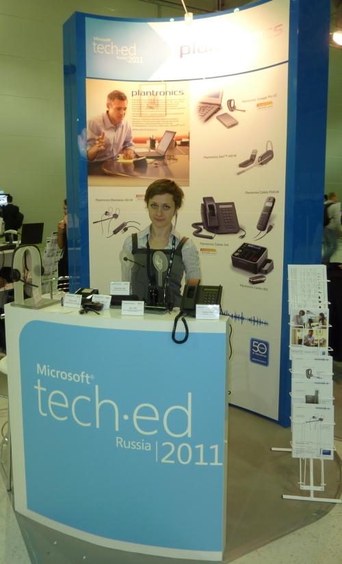 Plantronics на Microsoft TechEd Russia 2011